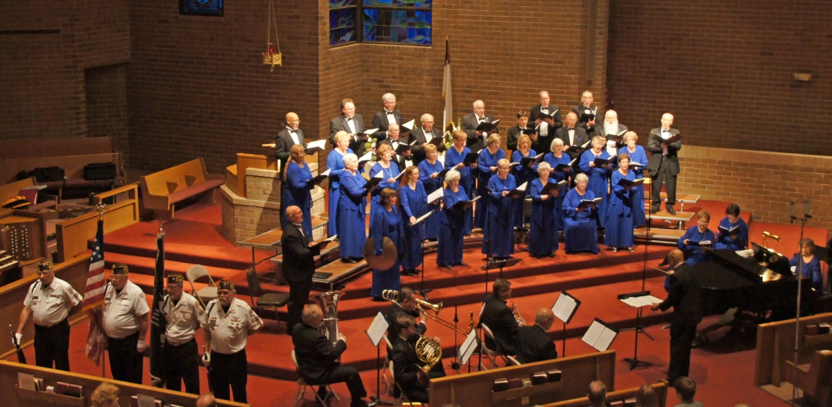 The Gilbert Jackson Chorale performing 2015